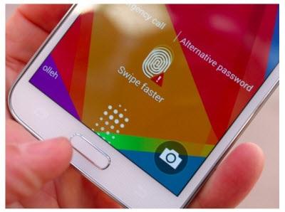 Samsung S5 biometric