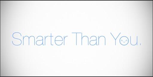 smarter then you_finger