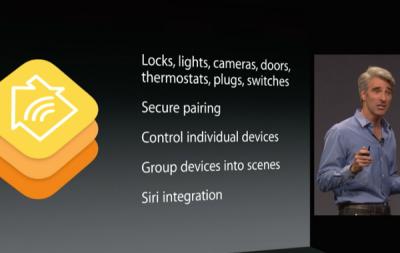 Homekit features