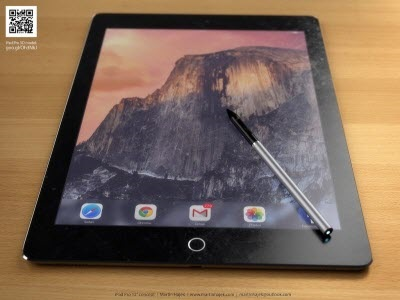 iPad plus with Stylus concept