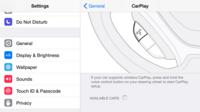 iOS 83 Carplay