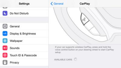 iOS 83 Carplay