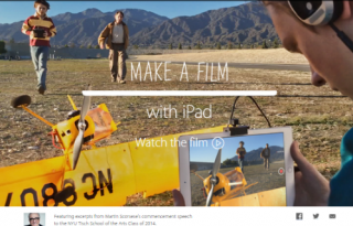 iPad Air 2 film commercial