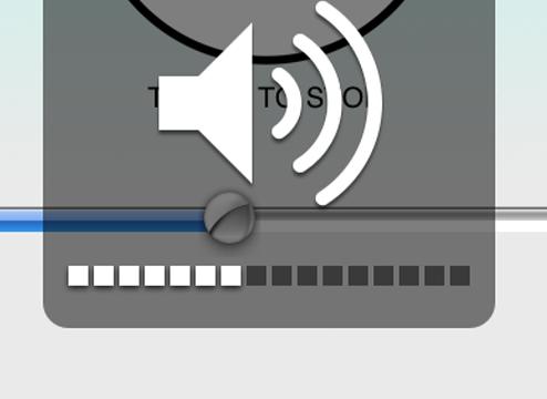 iPhone Volume