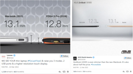 Asus and Lenovo mock the new MB