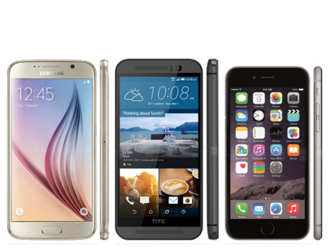 Galaxy 6S vs One M9 vs iPhone 6
