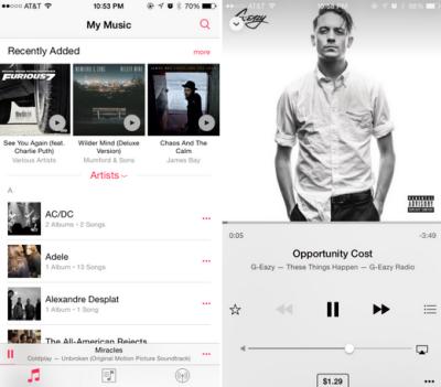 84 beta 1 music app