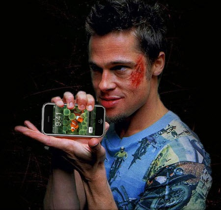Fight Club and iPhone