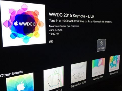 WWDC 2015 channel
