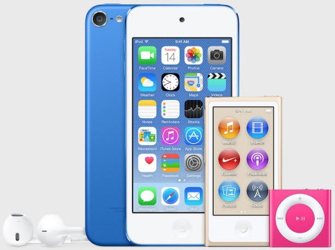 iPod Touch lineup 2015