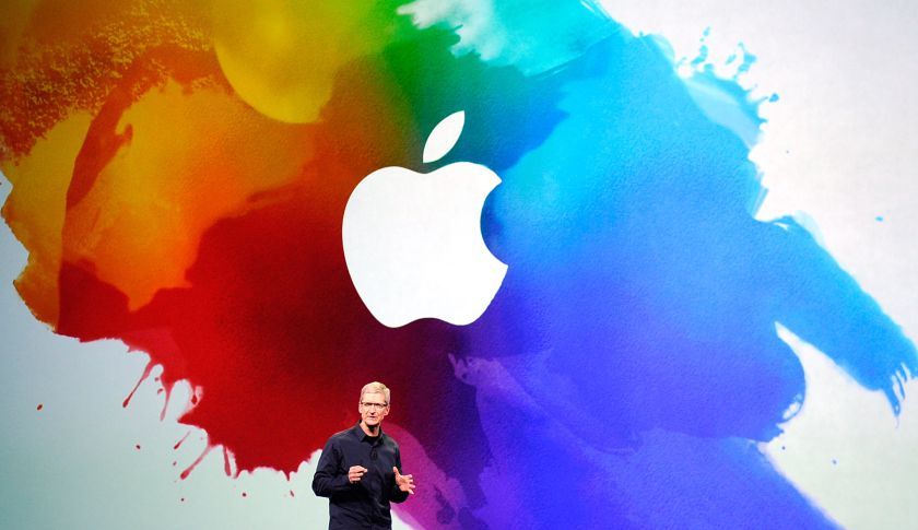 SAN FRANCISCO, CA - MARCH 07:  Apple CEO Tim Cook speaks during an Apple product launch event at Yerba Buena Center for the Arts on March 7, 2012 in San Francisco, California. In the first product release following the death of Steve Jobs, Apple Inc. introduced the third version of the iPad and an updated Apple TV.  (Photo by Kevork Djansezian/Getty Images)