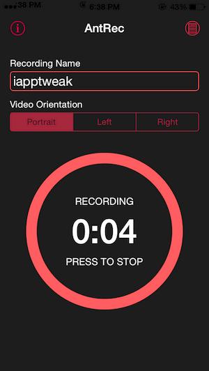 AntRec-Iphone-HD-screen-recorder-cydia-tweak-iapptweak