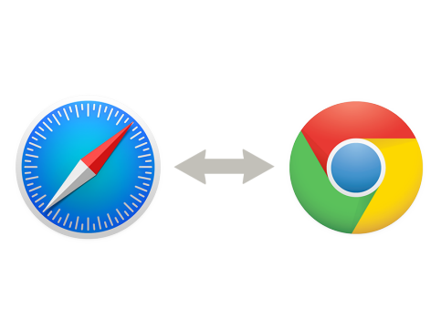 Safari vs Chrome