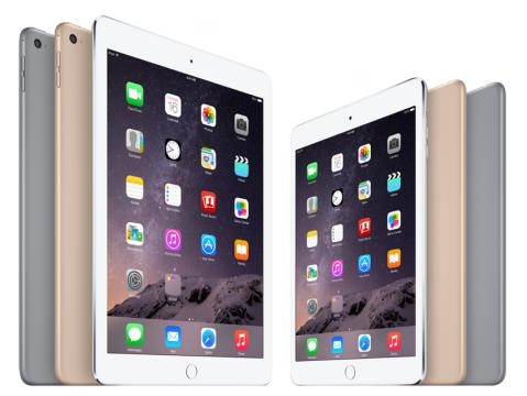 iPad lineup 2015