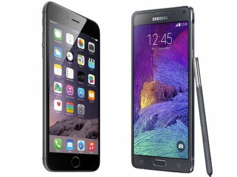 iPhone 6 VS Note 5