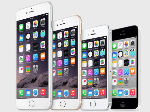 iPhone lineup 2015
