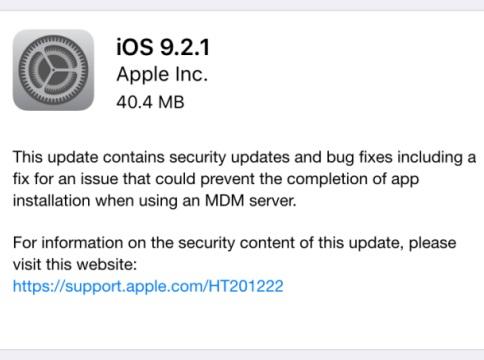 iOS 921
