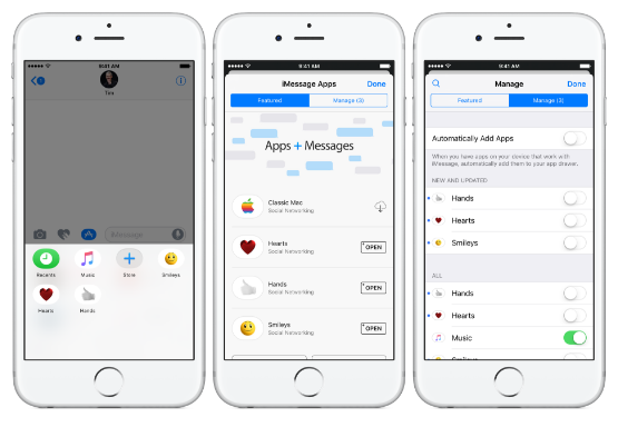 iMessage iOS 10 beta 2