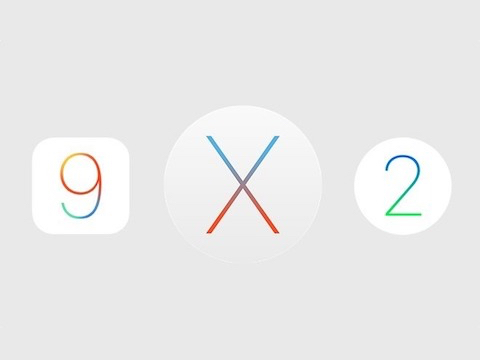 iOS OS X and watchOS