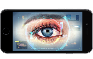 iPhone Iris scanner