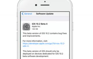 iOS 102 beta 4