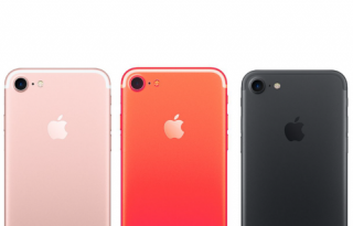 Red iPhone 7s