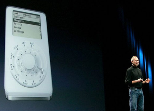 Jobs iPodphone
