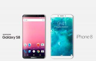 GS8 vs iPhone 8