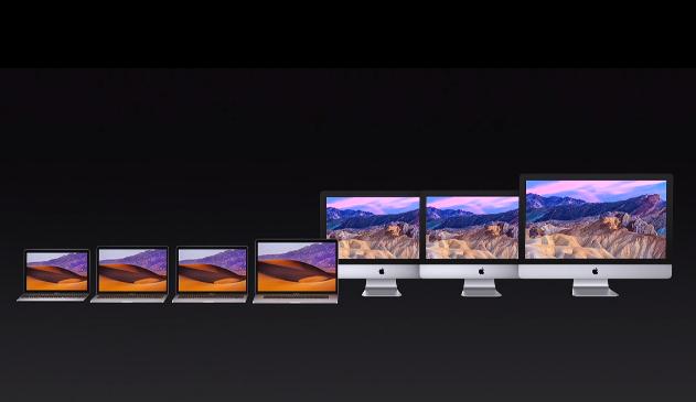 Apple 2017 Mac line